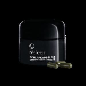 sleep.ink - resleep Schlafkapseln mit Steinpilz, Melatonin und Melisse