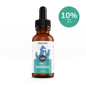 AlphaVital Animals 10 % - CBD-Tropfen für Tiere