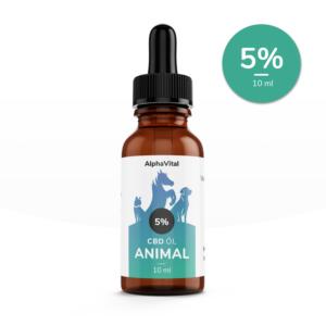 AlphaVital Animals 5 % - CBD-Tropfen für Tiere